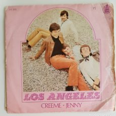 Discos de vinilo: SINGLE LOS ÁNGELES CREEME JENNY. Lote 129432370
