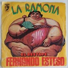 Discos de vinilo: SINGLE LA RAMONA FERNANDO ESTESO. Lote 129432950