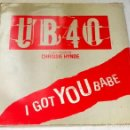 Discos de vinilo: UB40 & CHRISSIE HYNDE; I GOT YOU BABE - VIRGIN F601912 - 1985. Lote 129436339
