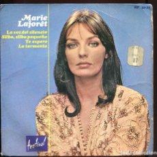 Discos de vinilo: MARIE LAFORET. LA VOZ DEL SILENCIO, ETC. HISPAVOX 1965.. Lote 129441199