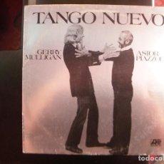 Disques de vinyle: GERRY MULLIGAN, ASTOR PIAZZOLA- TANGO NUEVO. LP.. Lote 129444063