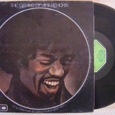 Discos de vinilo: JIMI HENDRIX - THE GENIUS JIMI HENDRIX - LP 1983 - MOVIEPLAY. Lote 129450123