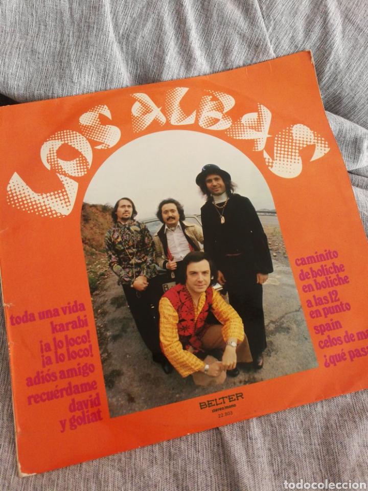LP LOS ALBAS- BELTER, 1974. (Música - Discos - LP Vinilo - Grupos Españoles de los 70 y 80)