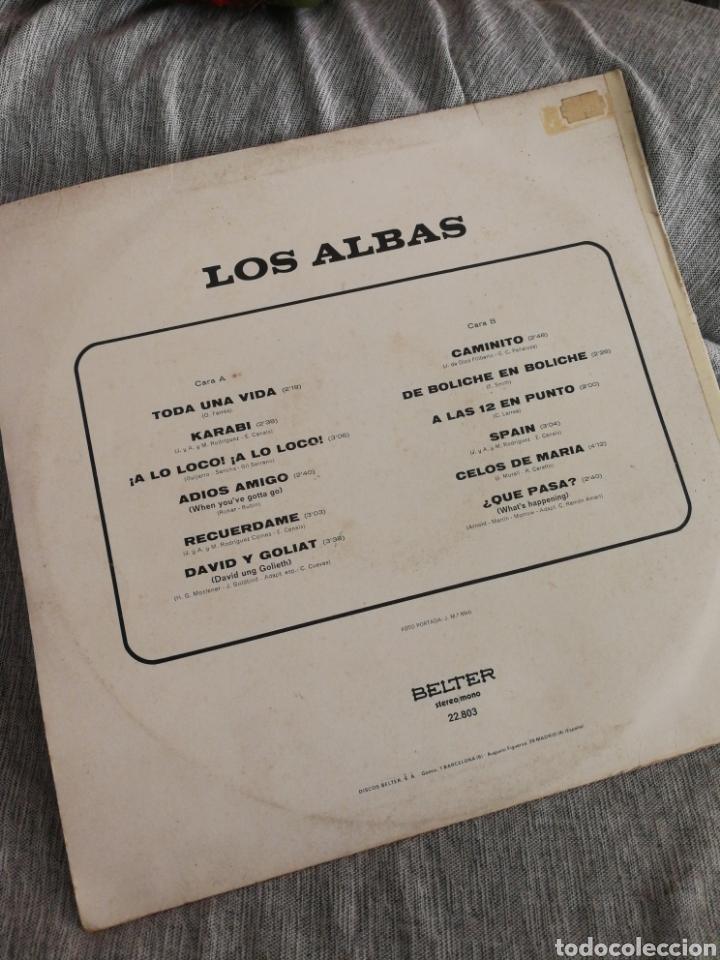 Discos de vinilo: LP LOS ALBAS- BELTER, 1974. - Foto 3 - 129452507