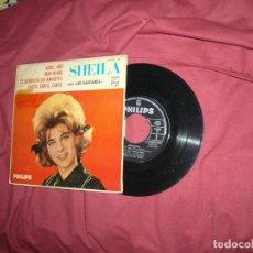 Discos de vinilo: SHEILA CON LES GUITARES,AQUEL AÑO,OUKI KOUKI,EL SILBIDO DE LOS AMIGOTES..,PHILIPS 1963 EP SPA. Lote 129453767