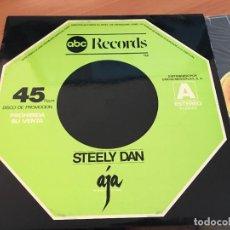 Discos de vinilo: STEELY DAN (AJA) MAXI ESPAÑA 1977 PROMO (VIN-A7). Lote 129455327