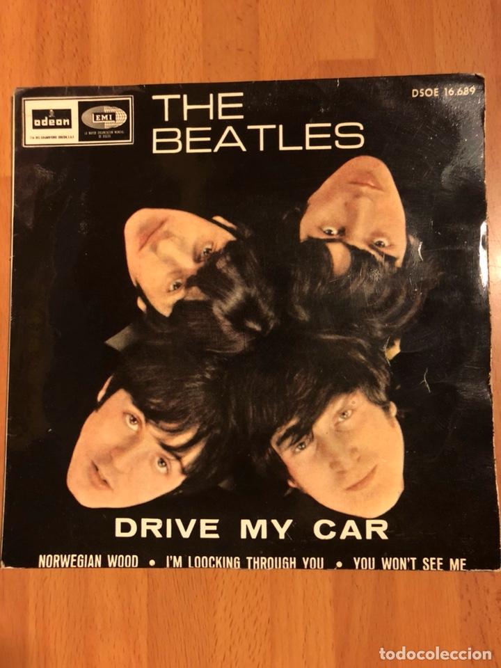 Ep Vinilo The Beatles.drive My Car.norwegian Wo