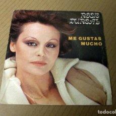 Discos de vinilo: ROCIO DURCAL - ME GUSTAS MUCHO + CUANDO YO QUIERA HAS DE VOLVER -SINGLE- ARIOLA 1978 PROMO STARLUX. Lote 129491391