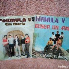 Discos de vinilo: DOS SINGLES DE FORMULA V. Lote 129507783