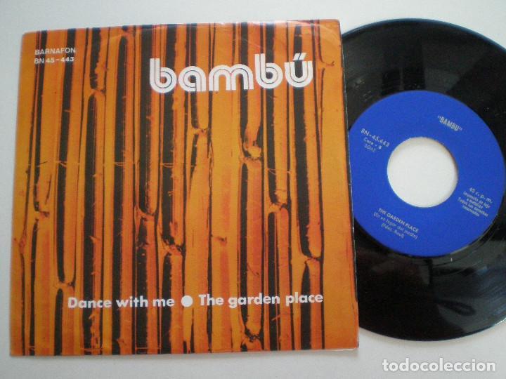 BAMBU - DANCE WITH ME +1 - SG BARNAFON 1975 // MEGA RARO ANDERGRAUN GARAGE PSYCH HAMMOND ((LISTEN)) (Música - Discos - Singles Vinilo - Grupos Españoles de los 70 y 80)