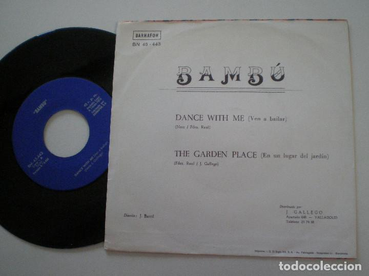 Discos de vinilo: BAMBU - Dance With Me +1 - SG BARNAFON 1975 // MEGA RARO ANDERGRAUN GARAGE PSYCH HAMMOND ((LISTEN)) - Foto 2 - 129516339