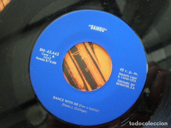 Discos de vinilo: BAMBU - Dance With Me +1 - SG BARNAFON 1975 // MEGA RARO ANDERGRAUN GARAGE PSYCH HAMMOND ((LISTEN)) - Foto 4 - 129516339