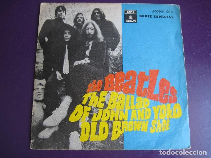 THE BEATLES SG EMI 1969 THE BALLAD OF JOHN AND YOKO / OLD BROWN SHOE (Música - Discos - Singles Vinilo - Pop - Rock Extranjero de los 50 y 60)