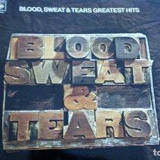 Discos de vinilo: BLOOD SWEAT & TEARS GREATEST HITS LP. Lote 129528783
