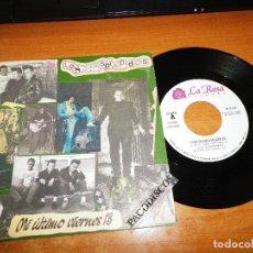 Discos de vinilo: LOS DESPIADADOS MI ULTIMO VIERNES 13 / BURNING LOVE SINGLE VINILO DEL AÑO 1991 CONTIENE 2 TEMAS. Lote 129535263
