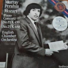 Discos de vinilo: LP, MURRAY PERAHIA. MOZART. ENGLISH CHAMBER ORCHESTRA.. Lote 129537367