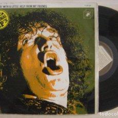 Discos de vinilo: JOE COCKER WITH A LITTLE HELP FROM MY FRIENDS - DOBLE LP 1972 - POLYDOR. Lote 129542075