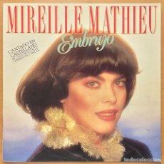 Discos de vinilo: MIREILLE MATHIEU - EMBRUJO. 1989 ARIOLA. Lote 129543534