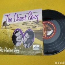 Discos de vinilo: THE DESERT SONG-KATHRYN GRAYSON-TONY MARTIN (VG+/EX) 10 PULGADAS MASTER´S VOICE LP Ç. Lote 129548563