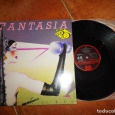 Discos de vinilo: 3 D FANTASIA MAXI SINGLE VINILO PROMO 1984 LA DECADA PRODIGIOSA AZUL Y NEGRO JOAQUIN MONTOYA 3D. Lote 129548659