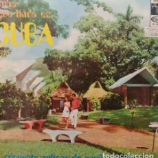 Discos de vinilo: ORQUESTA CUBANA DE MÚSICA MODERNA CUBA QUE LINDA ES CUBA LP ESPAÑOL DE VINILO JAZZ AFRO CUBANO. Lote 129552003