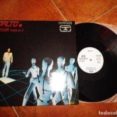 Discos de vinilo: DALTO PESSOA SABER DE TI MAXI SINGLE VINILO PROMO 1983 ESPAÑA CONTIENE 1 TEMA CANTADO EN ESPAÑOL. Lote 129552671