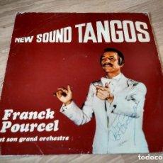 Discos de vinilo: NEW SOUND TANGOS - FRANCK POURCEL. Lote 129558127