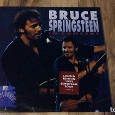 Discos de vinilo: BRUCE SPRINGSTEEN IN CONCERT / MTV UNPLUGGED 2 X LP VINILO SPAIN 1993 LIMITED EDITION CBS/SONY. Lote 129579291