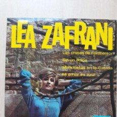 Discos de vinilo: LEA ZAFRANI- LAS CHICAS DE FORMENTOR +3- EP MARFER 1967. Lote 129599435