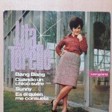 Discos de vinilo: LITA TORELLO- BANG BANG +3- EP VERGARA 1966. Lote 129600559
