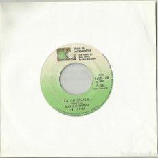 Discos de vinilo: ALEX & ORQUESTA LIBERACIÓN SINGLE COLEGIALA / QUIERO CONOCERTE GUATEMALA 1985. Lote 129601599