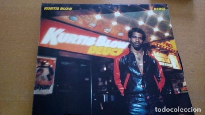 KURTIS BLOW DEUCE LP SPAIN (Música - Discos - LP Vinilo - Rap / Hip Hop)