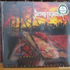 Discos de vinilo: LP_DEATH ANGEL_THE BAY CALLS FOR BLOOD_LIVE IN SAN FRANCISCO_2015_PRECINTADO_CON POSTER. Lote 129629735