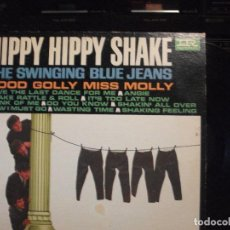 Discos de vinilo: THE SWINGING BLUE JEANS HIPPY HIPPY SHAKE LP USA 1964 PEPETO TOP. Lote 129649867