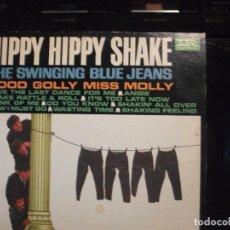 Discos de vinilo: THE SWINGING BLUE JEANS HIPPY HIPPY SHAKE LP USA 1964 PEPETO TOP. Lote 129649867
