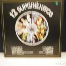 Discos de vinilo: LP. 12 SUPEREXITOS - VARIOS. Lote 129665543