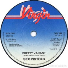 Discos de vinilo: SEX PISTOLS - PRETTY VACANT (SINGLE) . Lote 129669215