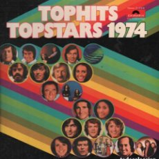 Discos de vinilo: TOP HITS TOP STARS 1974 / DOBLE LP POLYDOR EN CAJA , AÑO 1974 RF-4827. Lote 129693975