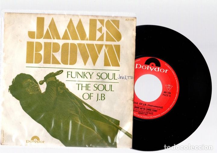 SINGLE JAMES BROWN. FUNKY SOUL. THE SOUL OF J.B. POLYDOR. (Música - Discos - Singles Vinilo - Funk, Soul y Black Music)
