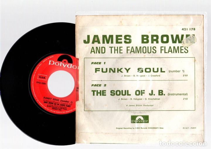 Discos de vinilo: SINGLE JAMES BROWN. FUNKY SOUL. THE SOUL OF J.B. POLYDOR. - Foto 2 - 129698699