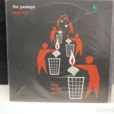 Discos de vinilo: LP. THE PASSAGE - ENFLAME. Lote 129702911