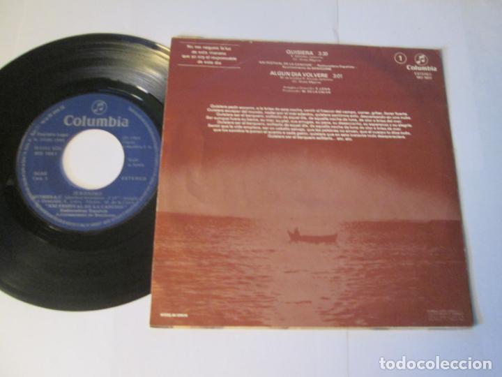 Discos de vinilo: JERONIMO - QUISIERA + ALGUN DIA VOLVERE -SINGLE- COLUMBIA 1980 SPAIN MO 1951 XXI FESTIVAL BENIDORM - Foto 2 - 129707103