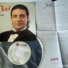 Discos de vinilo: JOEL - BESAME A 2 CARAS / PERET -SINGLE- TVE XX FESTIVAL OTI - PDI /RUMBA 1991 SPAIN CON HOJA PROMO. Lote 129713575