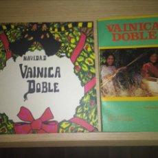 Discos de vinilo: VAINICA DOBLE LOTE (SINGLE + LIBRO). Lote 129723667