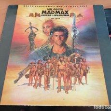 Discos de vinilo: MAD MAX MAS ALLA DE LA CUPULA DEL TRUENO LP ESPAÑA 1985 GAT. (VIN-A8). Lote 129724635
