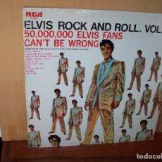 Dischi in vinile: ELVIS PRESLEY - ROCK AND ROLL VOL.2 - LP 1977. Lote 129725775