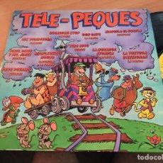Discos de vinilo: TELE PEQUES (PARCHIS, LA PANDA, REGALIZ, CUBEDOS, BACCHELLI, QUIQUE) LP ESPAÑA 1981 (VIN-A8). Lote 129726439
