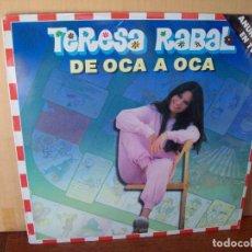 Discos de vinilo: TERESA RABAL - DE OCA A OCA - LP 1981. Lote 129729779