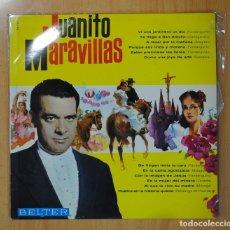 Discos de vinilo: JUANITO MARAVILLAS - JUANITO MARAVILLAS - LP. Lote 129732948