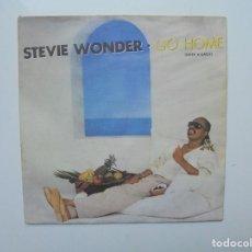 Discos de vinilo: STEVIE WONDER ''GO HOME'' ES UN SINGLE DE VINILO DE DOS CANCIONES DEL AÑO 1985. Lote 129741931